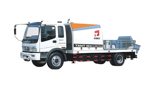 混凝土车载泵,车载混凝土输送泵,车载泵